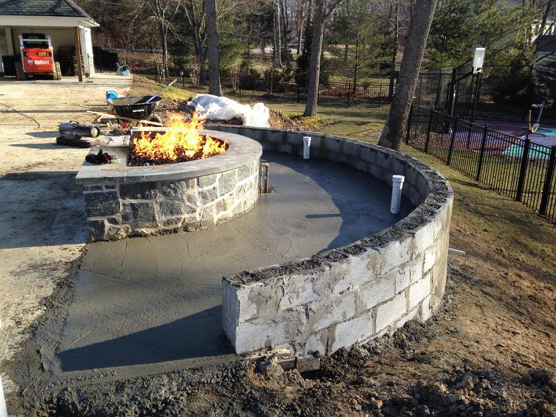 Build Stone Wall 04 Hersh Concepts