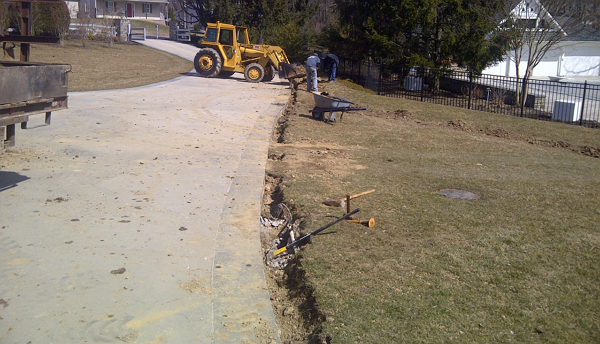 driveway drainage system