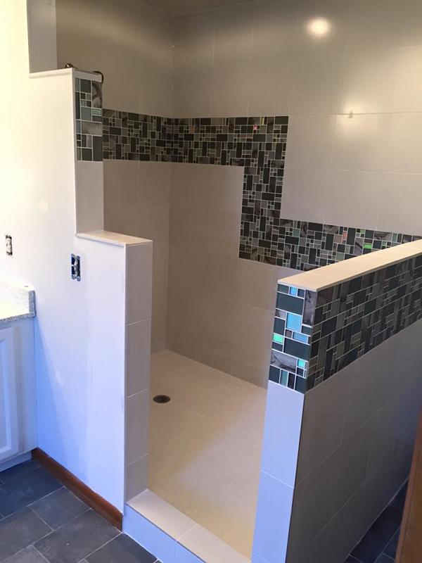 Install Walk In Tile Shower