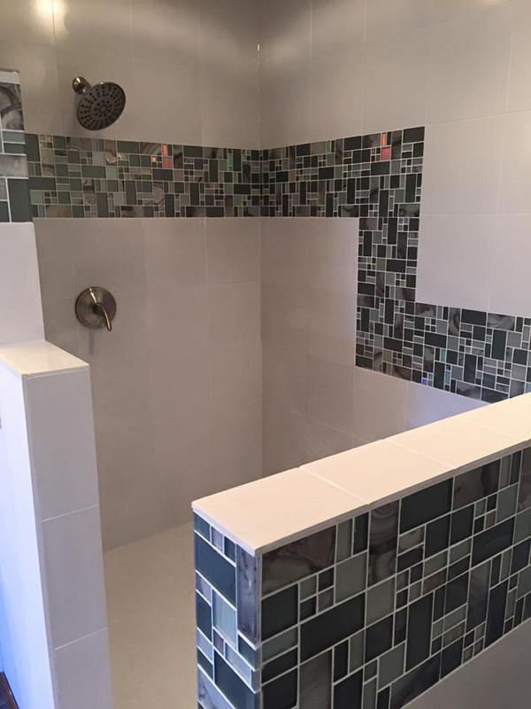 Install Walk-In Tile Shower