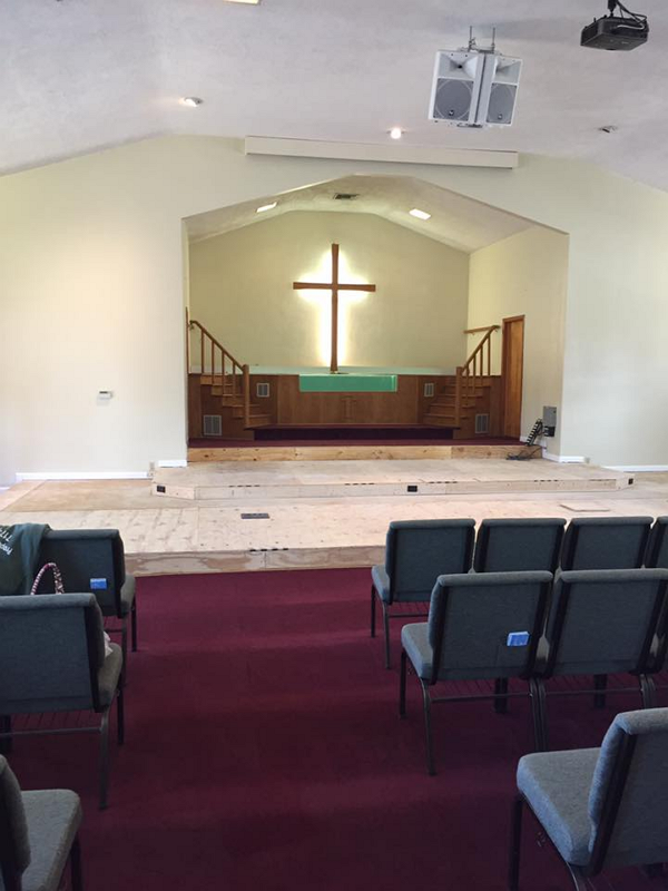 3 Level Platform Construction For Church 5 Hersh Concepts