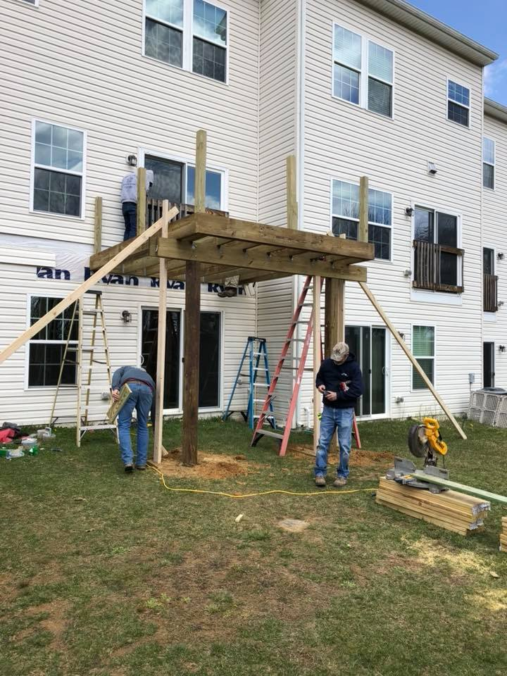 Deck Construction Hanover Pa Hersh Concepts